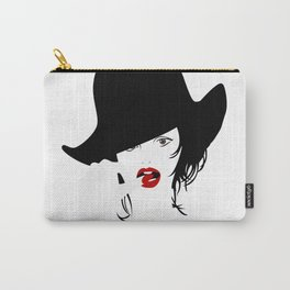 Finger in the mouth Carry-All Pouch