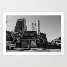 Unseen Monsters of New York - Ucopia Popinjay Art Print