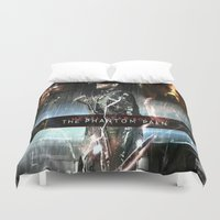metal gear solid Duvet Covers featuring metal gear solid V  , metal gear solid V  games, metal gear solid V  blanket, by Eirarose