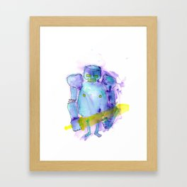 Night Knight Framed Art Print