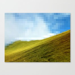 High compression clouds Canvas Print