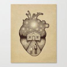 Finally Home Canvas Print
