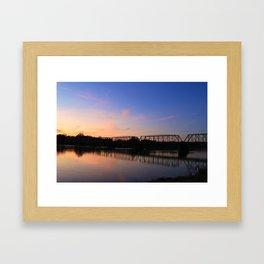 Take me to New Hope... Framed Art Print