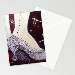 Heels on wheels Stationery Cards