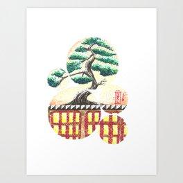 Bonsai City Art Print