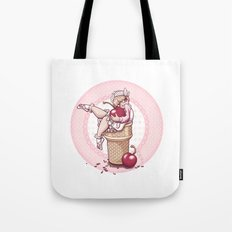 With A Cherry On Top! Tote Bag