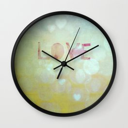 love. Wall Clock