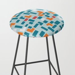 Bricks - dark Bar Stool