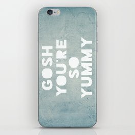 Gosh (Yummy) iPhone Skin