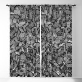 Master builder B&W Blackout Curtain