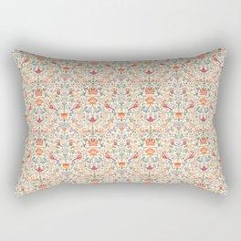 Birdsong Creme Smaller Pattern Rectangular Pillow