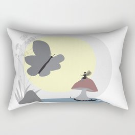 Encounters II Rectangular Pillow