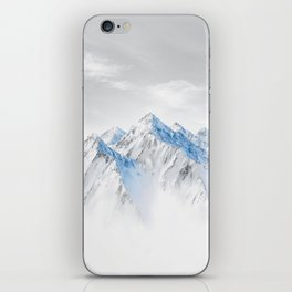 Snow Capped Mountains iPhone Skin