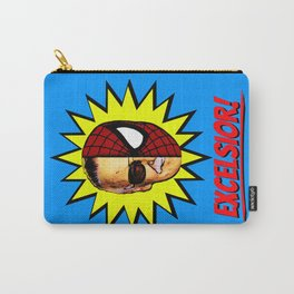 EXCELSIOR!     Stan Lee & Spider-Man Carry-All Pouch