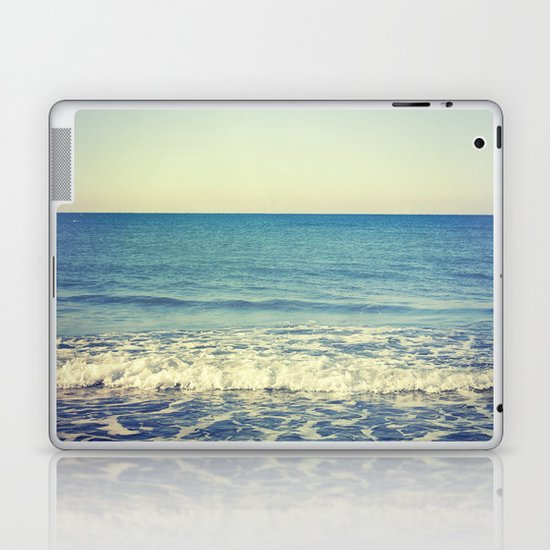 in the arms of the Ocean Laptop & iPad Skin