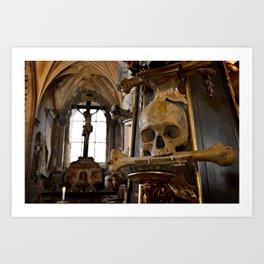 Bone Church Art Print