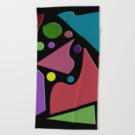 Abstract #307 Beach Towel