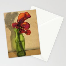 Calla lilies in bloom Stationery Cards