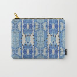 Blue Blotted Stars Carry-All Pouch