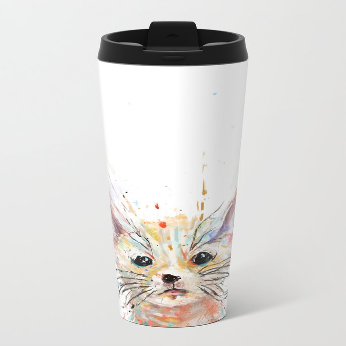 please like me Travel Mug