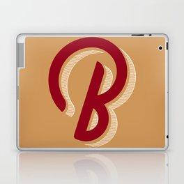BOLD 'B' DROPCAP Laptop & iPad Skin