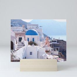 Santorini Island, Greece Mini Art Print