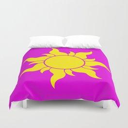 TANGLED SUN SYMBOL Duvet Cover
