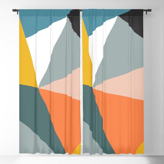 Modern Geometric 33 Blackout Curtain