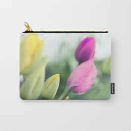 Colorful tulips 2 Carry-All Pouch