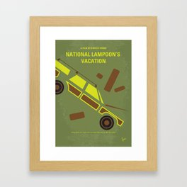 No412 My National Lampoon's Vacation mmp Framed Art Print