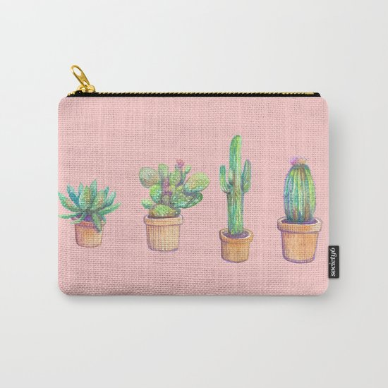 pinky 4 cactus Carry-All Pouch