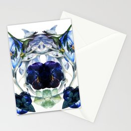 Flower Power Bluelove Stationery Cards