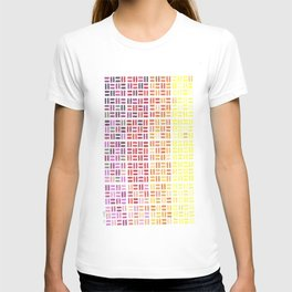 Pencil Mosaic #1 T-shirt