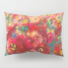 Impressionist Floral Abstract by OLena Art Pillow Sham