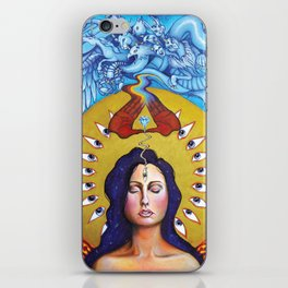 Entering The Mysteries iPhone Skin
