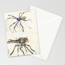 Insect study Stationery Cards