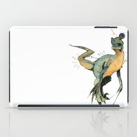 dinosaur iPad Cases featuring Dinosaur by Nicola Girello