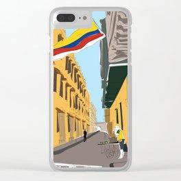 Cartagena de Indias, Colombia Mini Clear iPhone Case