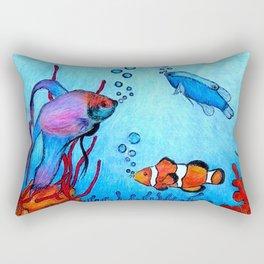 Ocean deep Rectangular Pillow