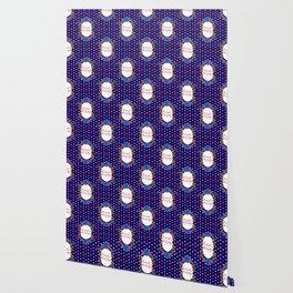 Cute Feminist Killjoy Floral Pattern Wallpaper