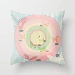 Pin my Wings Throw Pillow