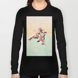 Turtle and bouquet Long Sleeve T-shirt