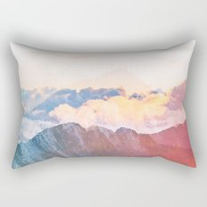 Mountain Glory #society6 #decor #buyart Rectangular Pillow