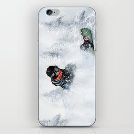 Travis Rice #2 iPhone Skin