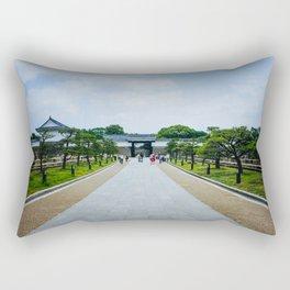 Osaka Castle Rectangular Pillow