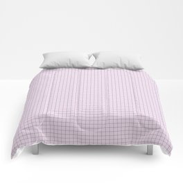 Not Your Granny's Square Pattern in Millennial Pink Comforters