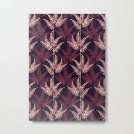Violet Jungle #society6 #violet #pattern Metal Print