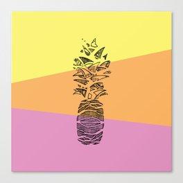 Pineapple surprise Canvas Print