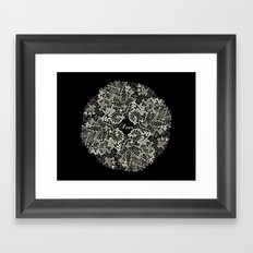 Peace Poppy Framed Art Print