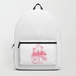 Born To Freeride Backcountry Skiing pw Backpack